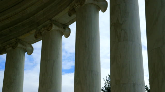 Jefferson Memorial Granite Columns