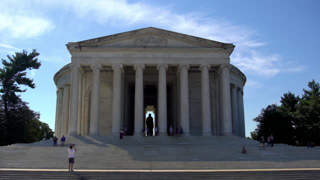 jefferson memorial - トーマス ジェファーソン点の映像素材/bロール