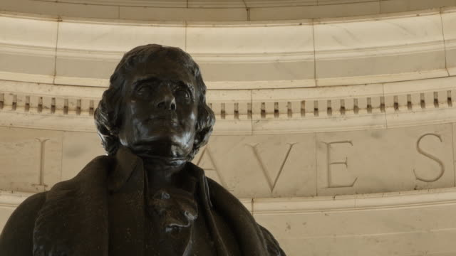 jefferson memorial - statue stock videos & royalty-free footage