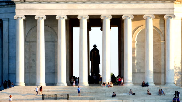 jefferson memorial - jefferson memorial stock videos & royalty-free footage