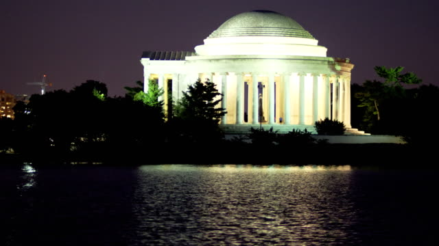 vidéos et rushes de le jefferson memorial, à washington, d.c. - jefferson memorial