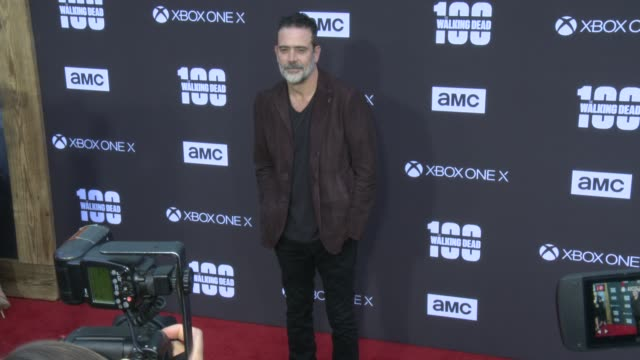 Jeffrey Dean Morgan at the AMC's The Walking Dead 100th Episode Season 8 Special Premiere Screening at The Greek Theatre on October 22 2017 in Los...