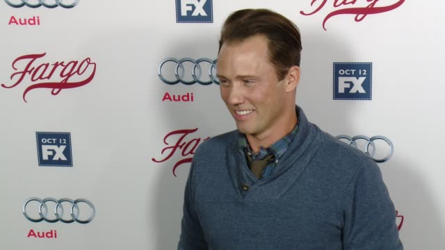 jeffrey donovan at fx's fargo los angeles premiere at arclight cinemas on october 07 2015 in hollywood california - arclight cinemas hollywood stock videos & royalty-free footage