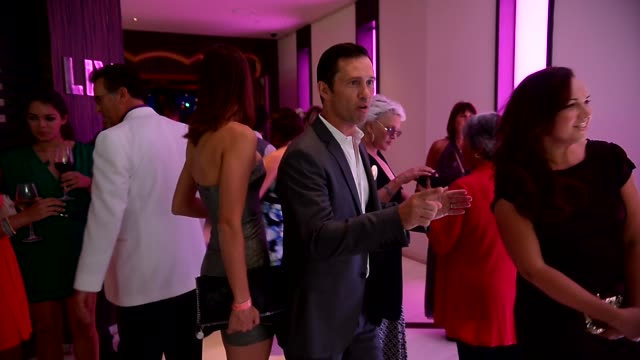 jeffrey donovan, bruce campbell, and sharon gless at the 'burn notice' wrap party at fontainebleau miami beach. jeffrey donovan, bruce campbell, and... - sharon gless stock videos & royalty-free footage
