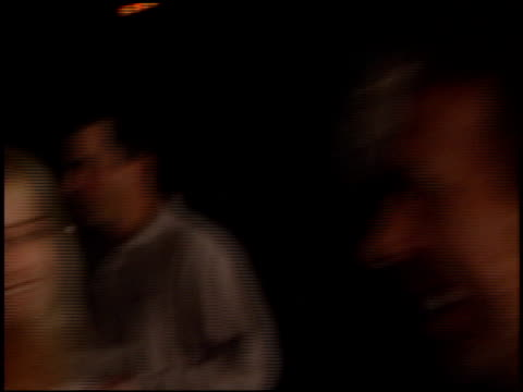 jeffrey katzenberg at the 'black hawk down' premiere at ampas in beverly hills california on december 18 2001 - 映画芸術科学協会点の映像素材/bロール