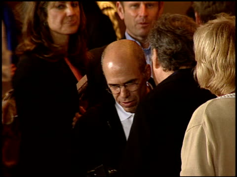 jeffrey katzenberg at the 'collateral' premiere at orpheum theatre in los angeles, california on august 2, 2004. - orpheum theatre stock videos & royalty-free footage