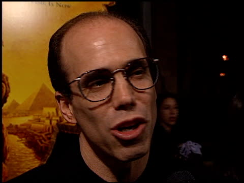 Jeffrey Katzenberg at the 'Prince of Egypt' Premiere at Royce Hall UCLA in Westwood California on December 17 1998