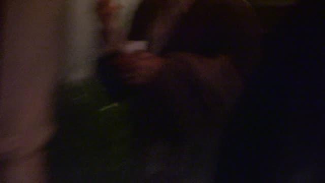 jeffrey katzenberg departs private 2014 caa pre oscar party in bel air - celebrity sightings in los angeles on february 28, 2014 in los angeles,... - celebrity sightings stock videos & royalty-free footage