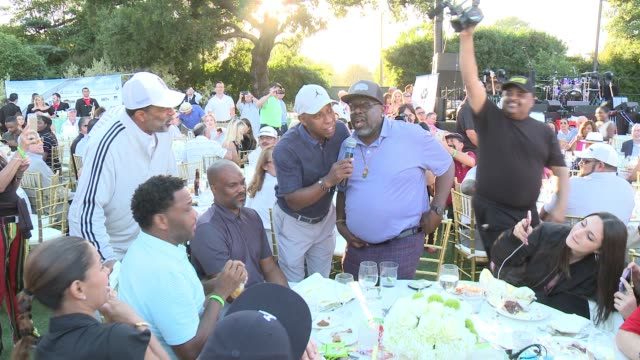 Jeffrey Osborne Anthony Anderson George Lopez Cedric The Entertainer and Norman Nixon at the 10th Annual George Lopez Foundation Celebrity Golf...