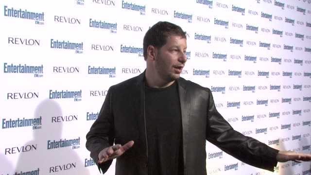 jeffrey ross at the entertainment weekly 6th annual pre-emmy party at los angeles ca. - エミー賞前夜祭パーティー点の映像素材/bロール