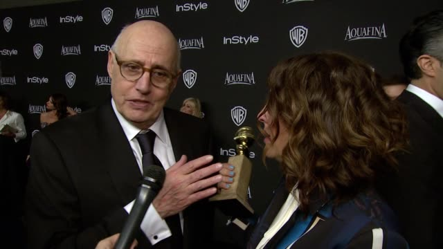 jeffrey tambor and jill soloway at 16th annual instyle and warner bros. golden globe after-party on january 11, 2015 in beverly hills, california. - jeffrey tambor stock videos & royalty-free footage