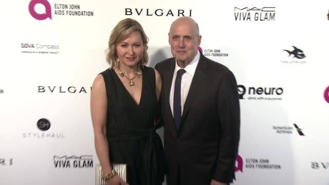 jeffrey tambor at elton john aids foundation presents 24th annual academy awards viewing party on february 28, 2016 in west hollywood, california. - jeffrey tambor stock videos & royalty-free footage