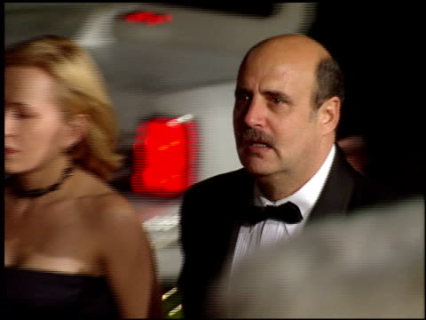 jeffrey tambor at the 1998 academy awards titanic party at new chasens in beverly hills california on march 23 1998 - オスカーパーティー点の映像素材/bロール