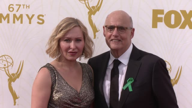 jeffrey tambor at the 67th annual primetime emmy awards at microsoft theater on september 20, 2015 in los angeles, california. - jeffrey tambor stock videos & royalty-free footage