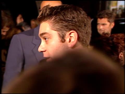 jeffrey tambor at the 'meet joe black' premiere at academy theater in beverly hills, california on november 10, 1998. - jeffrey tambor stock videos & royalty-free footage