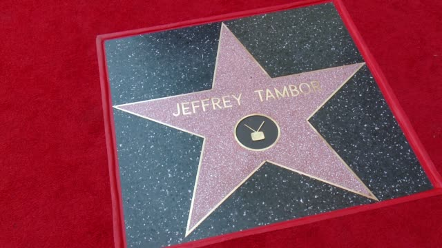 jeffrey tambor honored with a star on the hollywood walk of fame on august 8, 2017 in hollywood, california. - jeffrey tambor stock videos & royalty-free footage