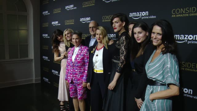Jeffrey Tambor Judith Light Alanis Morissette Gaby Hoffmann Kathryn Hahn Jill Soloway Amy Landecker Trace Lysette and Our Lady J at Amazon Prime...