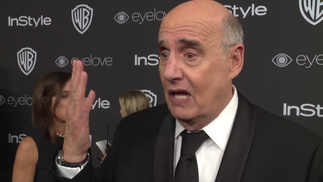 jeffrey tambor loves meryl streep at 18th annual instyle and warner bros. pictures golden globes after-party at the beverly hilton hotel on january... - jeffrey tambor stock videos & royalty-free footage