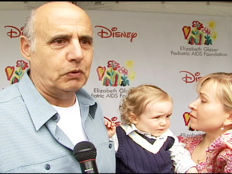 Jeffrey Tambor on being at the event on how and why he got involved with and supports the Foundation what makes the 'Time For Heroes' carnival...