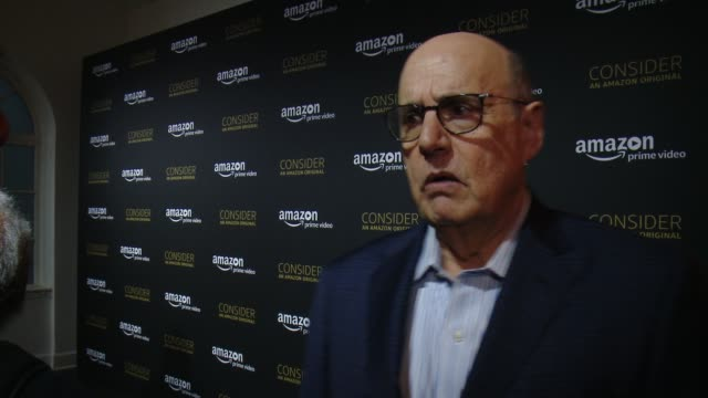 jeffrey tambor on how it feels to share tonight with the fans, what it's like to work with this amazing cast, the importance of our this show in our... - jeffrey tambor stock videos & royalty-free footage