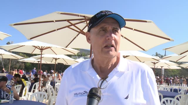 jeffrey tambor on participating today, hollywood giving back, and tonight's emmy show at nautica malibu triathlon presented by equinox on september... - jeffrey tambor stock videos & royalty-free footage