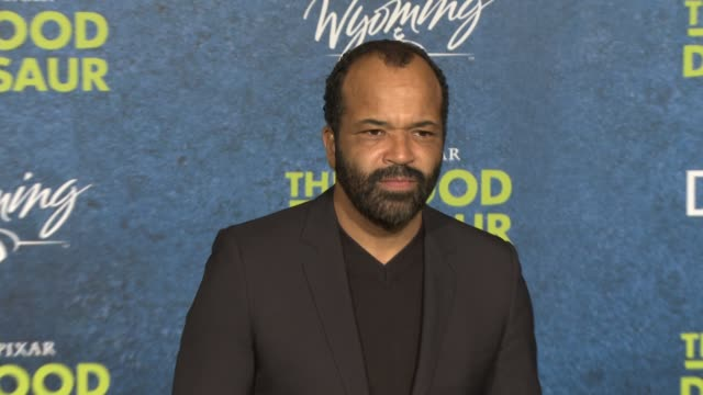 jeffrey wright at the good dinosaur world premiere at the el capitan theatre on november 17 2015 in hollywood california - el capitan theatre stock videos and b-roll footage