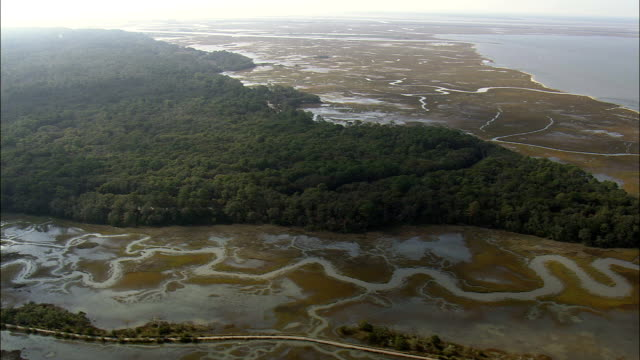 Jekyll Island,  Resort And Beach Houses  - Aerial View - Georgia,  United States