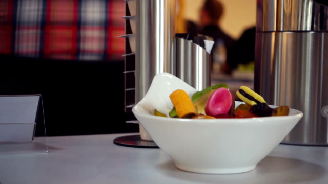 jelly beans and chocolate candies on table - jellybean stock videos & royalty-free footage