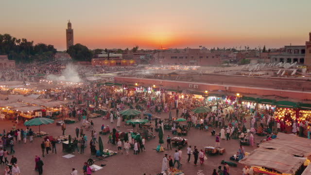 TL HA ZO Jemaa el Fna day to night transition