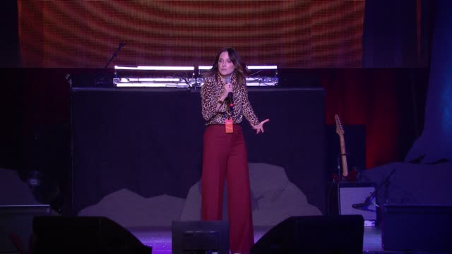 jen kirkman on stage at hilarity for charity's 5th annual los angeles variety show seth rogen's halloween at hollywood palladium on october 15 2016... - seth rogen stock videos and b-roll footage