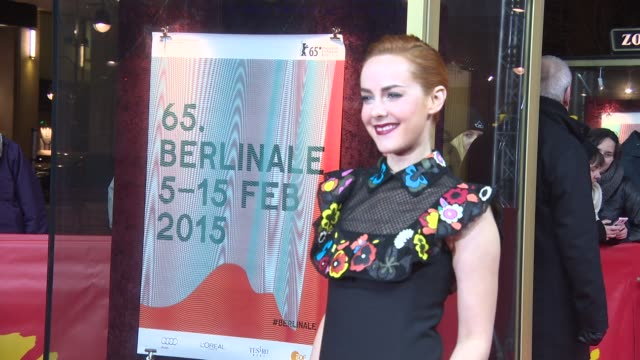 Jena Malone at 'Angelica' Red Carpet 65th Berlin Film Festival at Zoo Palast on February 07 2015 in Berlin Germany