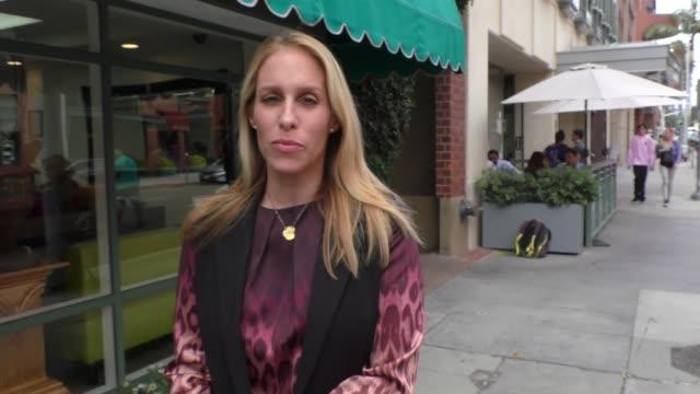 interview jenn mann talks about josh duhamel fergie split while shopping in beverly hills in celebrity sightings in los angeles - fergie duhamel stock videos and b-roll footage
