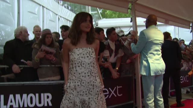 Jenna Coleman at Glamour 'Woman of the Year' Awards at Berkley Square on 3 June 2014 in London England