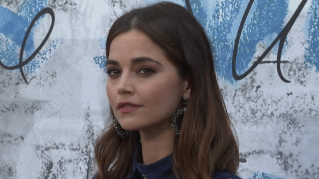jenna coleman at the summer party 2019 presented by chanel serpentine galleries at the serpentine gallery on june 25 2019 in london england - the serpentine gallery stock videos & royalty-free footage