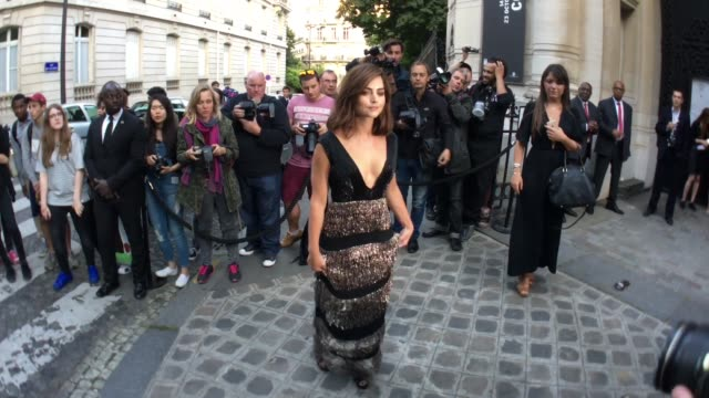 Jenna Coleman at Vogue Paris Foundation Gala on July 5 2016 in Paris France