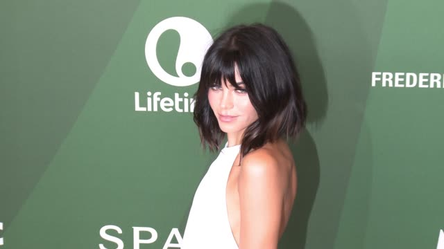 jenna dewan at variety's power of women luncheon 2016 at regent beverly wilshire hotel on october 14, 2016 in beverly hills, california. - regent beverly wilshire hotel stock videos & royalty-free footage