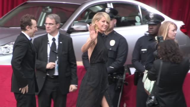 Jenna Elfman and Bodhi Elfman arrive at SAG Awards at Celebrity Sightings in Los Angeles Jenna Elfman Bodhi Elfman arrive at SAG Awards a at The...