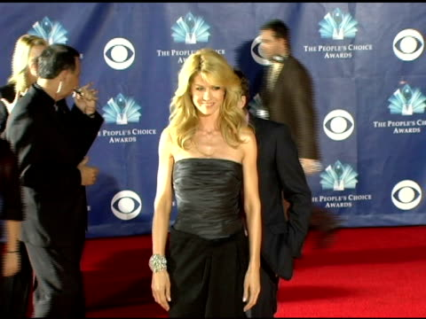 Jenna Elfman and Bodhi Elfman at the 2006 People's Choice Awards arrivals at the Shrine Auditorium in Los Angeles California on January 10 2006