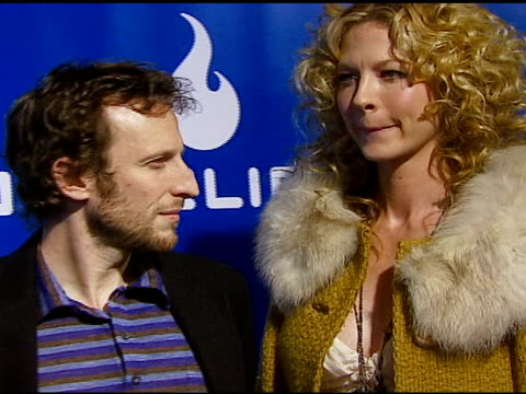 Jenna Elfman and Bodhi Elfman at the Helio Drift Launch on November 13 2006