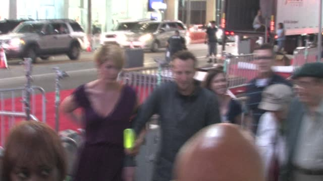 Jenna Elfman and Bodhi Elfman at the 'Larry Crowne' premiere in Hollywood on 6/27/2011
