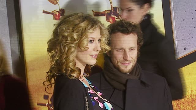 jenna elfman and husband bodhi elfman at the 'wild hogs' premiere at the el capitan theatre in hollywood, california on february 27, 2007. - bodhi elfman stock videos & royalty-free footage