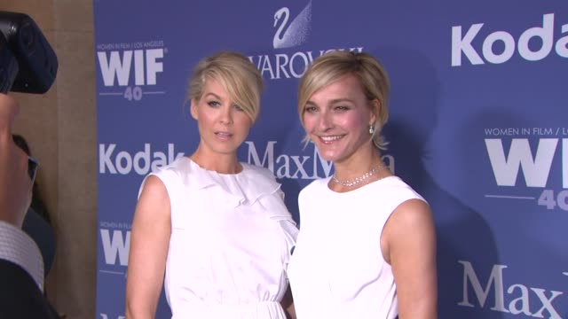 Jenna Elfman and Nicola Maramotti at 2013 Women In Film Crystal Lucy Awards Sponsored By Max Mara Swarovski And Kodak Jenna Elfman and Nicola...