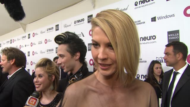 INTERVIEW Jenna Elfman at Elton John AIDS Foundation Presents 22nd Annual Academy Awards Viewing Party Sponsored By Chopard Neuro Drinks And Wells...
