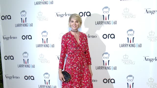 Jenna Elfman at Larry King's 60th Broadcasting Anniversary in Los Angeles CA