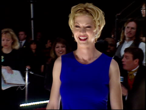 jenna elfman at the 1998 people's choice awards arrivals and press room at barker hanger in santa monica california on january 11 1998 - jenna elfman stock videos & royalty-free footage