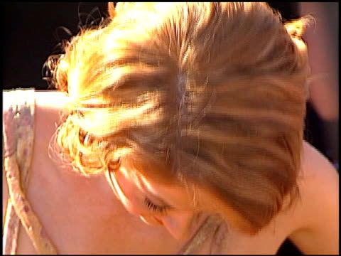 jenna elfman at the 2000 emmy awards at the shrine auditorium in los angeles, california on september 10, 2000. - jenna elfman stock videos & royalty-free footage