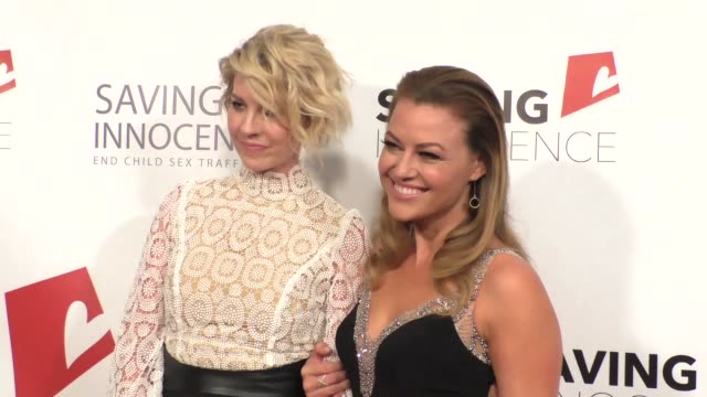 Jenna Elfman at the 4th Annual Saving Innocence Gala at SLS Hotel in Beverly Hills at Celebrity Sightings in Los Angeles on October 17 2015 in Los...