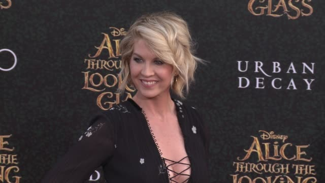 Jenna Elfman at the 'Alice Through The Looking Glass' Los Angeles Premiere at the El Capitan Theatre on May 23 2016 in Hollywood California