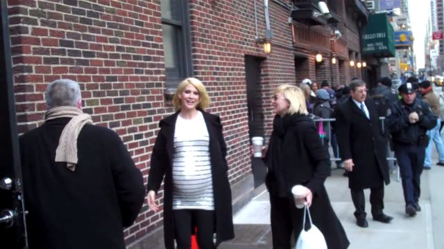 jenna elfman at the celebrity sighting in new york at new york ny - jenna elfman stock videos & royalty-free footage
