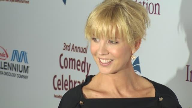 Jenna Elfman at the International Myeloma Foundation's 3rd Annual Comedy Celebration at Los Angeles CA